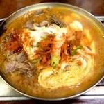 焼肉天国ヤールジャン - チゲ鍋
