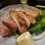 よし春 - 赤鶏 塩焼き
