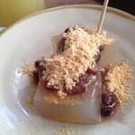シャトードール - プチデザートのわらび餅