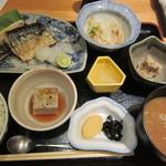 かわはら - 鯖焼きセット¥900