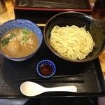 21418427 - 濃厚魚介鶏つけ麺&味玉