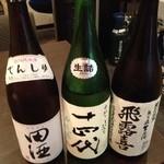 居酒屋⁺Neko - 飲み比べです。ハッキリ言って比べようがない!