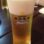 居酒屋⁺Neko - 三島で発見。静岡麦酒。