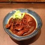 21419157 - 赤味噌のもつ煮