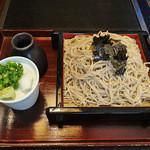 信濃庵  - ざるそば 大盛(850円)