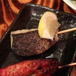 魚串さくらさく  - 炙り〆鯖(150円)