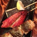 魚串さくらさく  - 鯖みりん(150円)