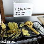 室蘭製麺所 - セルフ天ぷら