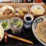 手打ち蕎麦 よし蔵 - よし蔵膳 1200円