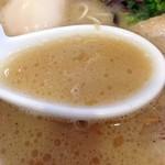 光・MENJI - 豚骨味玉細麺 2013年9月