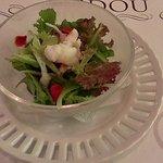 グリル アンドウ - コース、蟹サラダ