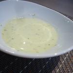 21428758 - 金沢胡瓜のクリームスープ