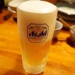 迷亭 - ドリンク写真:生ビール