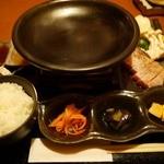 京 - 陶板焼き スタンバイ