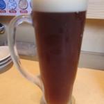 21429916 - 地ビールはこだてビール(北の一歩[エール]):480円