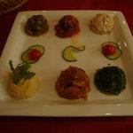 イスタンブール コナック - 前菜6種