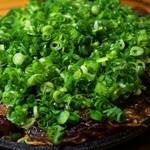 あそう - 尾道細麺のカリカリ焼き(ねぎけけ、揚げイカ)