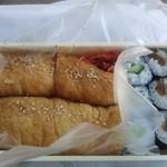 21434203 - 細巻と稲荷寿司のセット(650円)
