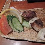 わっかないっ子みかく - 稚内牛 串 630円