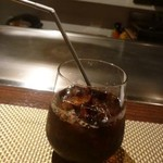 朱藏 - アイスコーヒー