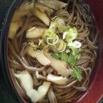 丁田屋 - マイタケ蕎麦