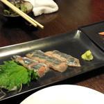 ゆらり - 秋刀魚刺身