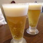 トラットリア シャント - ランチビール@450円
