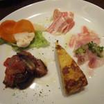 トラットリア シャント - 前菜@450円