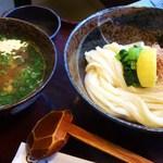 讃岐屋 雅次郎 - あさりつけ麺890円