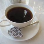 デルカフェ - +150円でコーヒー あと+50円すればデザートがつくらしい