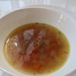 デルカフェ - ミネストローネスープ