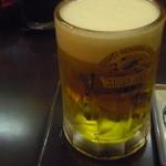 21442734 - 生ビール。キリン一番搾りです。