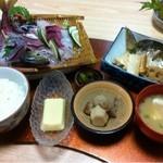 お食事処 慶 - 親父の釣った魚定食