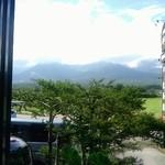 レストラン 最高地点 - 八ヶ岳は、あいにく雲の中