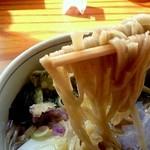 レストラン 最高地点 - 中太の蕎麦は、思いのほか美味しくてビックリ。。
