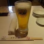 Chuukaryourikeikasarou - 生ビール(中)