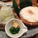 函館市場 海厨房 - ざる豆腐