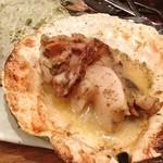 函館市場 海厨房 - ホタテバター