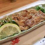 旬彩 あかぎ - 料理写真:岡山地鶏の塩焼き