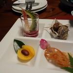 ホテル竜宮 - 料理写真:天草季節の前菜