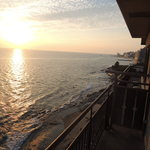 粛海風 - 部屋から海を臨む