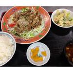 万徳 - ★生姜焼定食