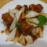 華宴 - 黒酢スブタ
