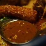 アジアンスープカリー べす - コク強いスープ