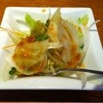 es - ランチセットのサラダ