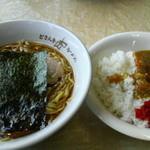 21452446 - カレーセット(醤油) 750円