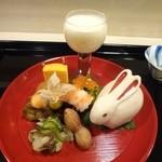 日本料理 喜多丘 - 八寸 美しい