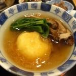 日本料理 喜多丘 - 丹波産くりの煮 神