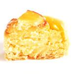 五感 - 「ほくほく手包み」芋のパイの断面 '12 5月下旬