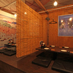 函館市場 海厨房 - お子様連れにうれしい半個室の座敷